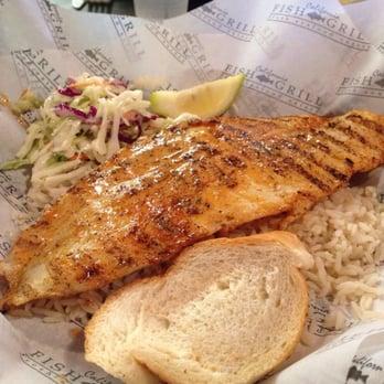 Cajun swain with rice for California fish grill gardena ca