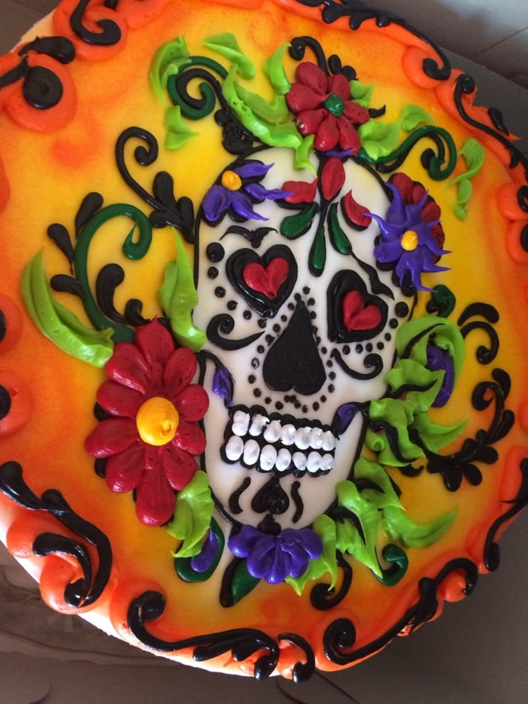 Cake And Art Yelp : Cake art for day of the dead by Nadines! Yelp