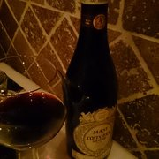 A bottle of Amarone.