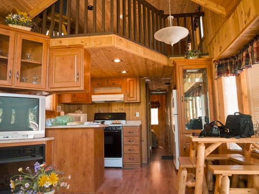 Small log cabins with lofts joy studio design gallery for Log home loft