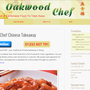 Oakwood Chef Chinese Takeaway