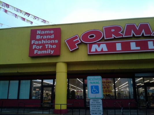 Clothing stores. Forman mills clothing store