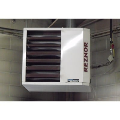 Reznor space ray infrared garage heaters yelp for Infrared garage heaters