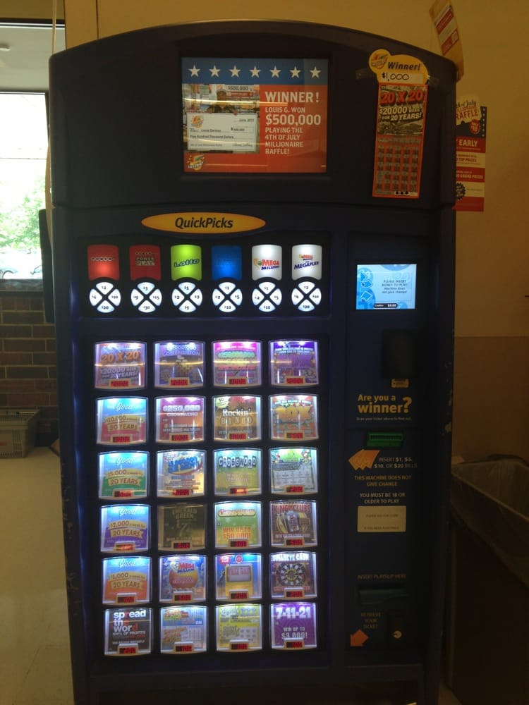 Scratch-off vending machine... Sweet!!!! | Yelp