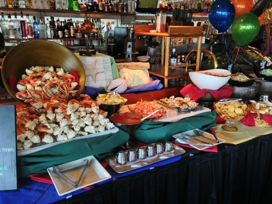 Sunday brunch buffet yelp for Fish buffet near me