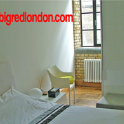 luxury 1 bedroom apartment Clerkenwell, Islington business, holiday, vacation rental  from Big Red London
