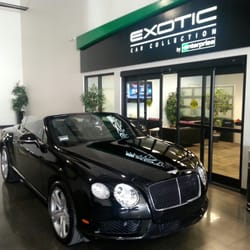 exotic car collection by enterprise car rental los