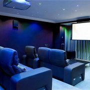 Cinema in suite