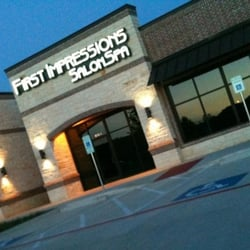 First impressions salon spa hair salons burleson tx for 1st impressions salon