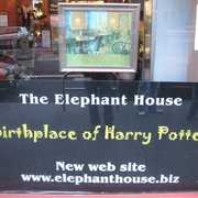 Front window of The Elephant House