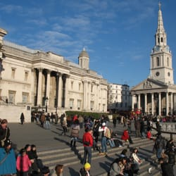 St Martin in the Fields, by National Galley and Trafalgar Square