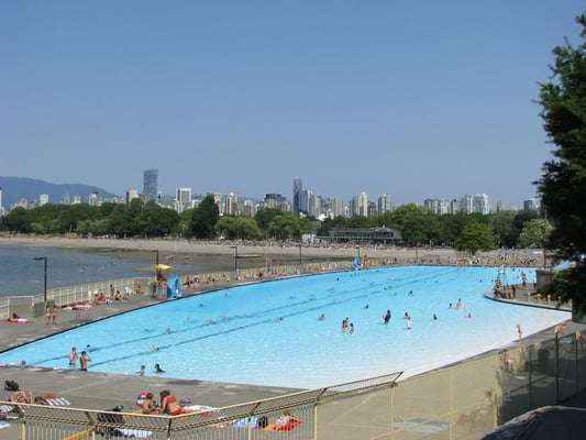 Kitsilano Pool Schwimmbad Vancouver Bc Kanada Yelp