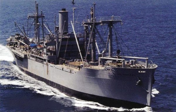 SS Lane Victory - Merchant Marine ship laden with asbestos