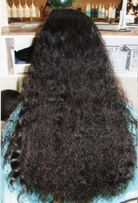 BEFORE Thermal Reconditioning and Rebonding (a.k.a. Japanese Hair