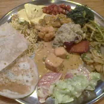 A little bit of everything at the lunch buffet, only £6.95!