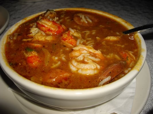 Seafood and Andouille Sausage Gumbo | Yelp