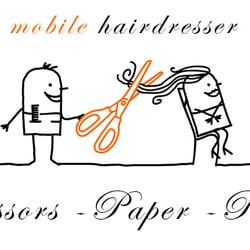Scissor, Paper, Rock Mobile Hairdressing, London
