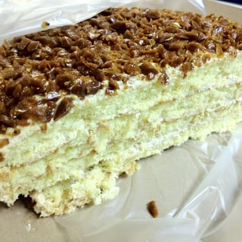 Eastern Bakery San Francisco Coffee Crunch Cake