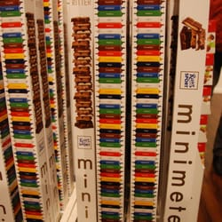 100 mini bars of Ritter Sport... dangerous.
