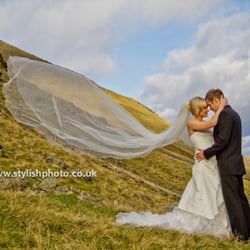 trash the dress at lake district