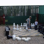 Giant Chess at Ash End Farm
