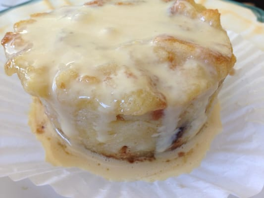 Chocolate/white chocolate bread pudding with Irish Cream Sauce | Yelp