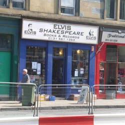 Elvis Shakespeare, Edinburgh