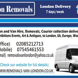British Removals, London
