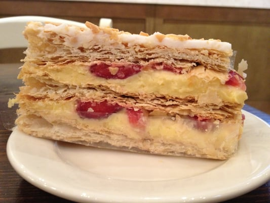 Strawberry napoleon. | Yelp