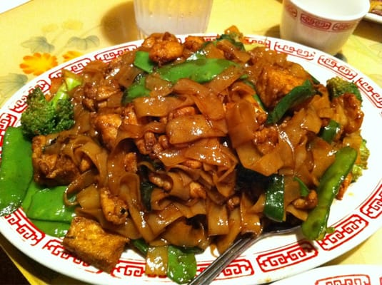 Chicken & Vegetable Chow Fun | Yelp