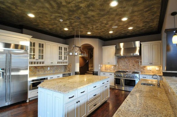how to make kitchen cabinets shine
