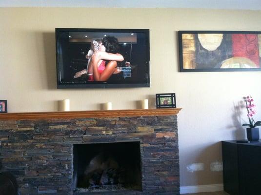 fireplace tv mount yelp