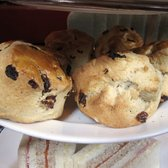 2nd Tier - Raisin Scones