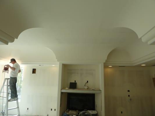 Custom ceiling architectural design yelp for Custom ceiling designs