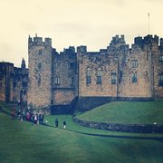 Alnwick Castle, Northumberland, UK