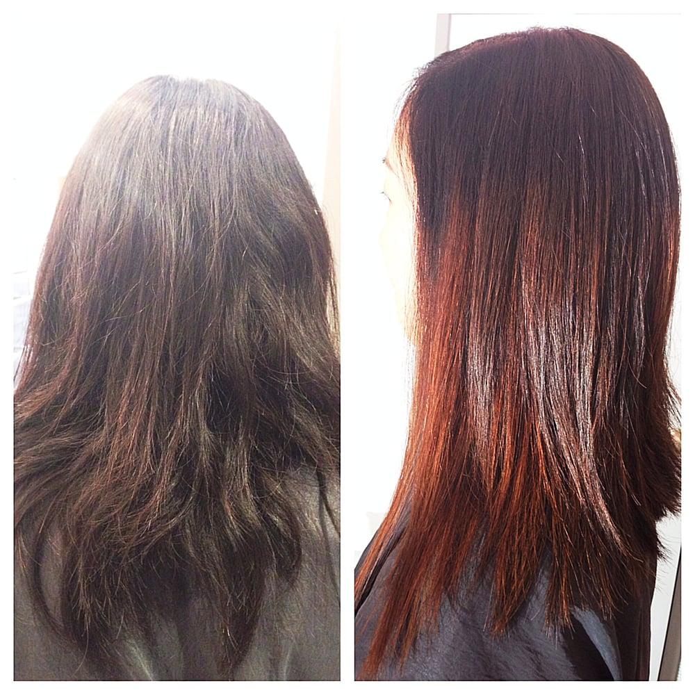 Ombre Hair Auburn Auburn ombre color for