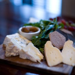 Enjoy our cheese plate