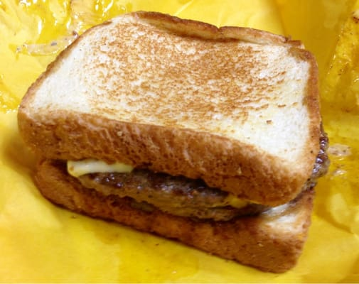 The monterey melt on texas toast can only be described in one word