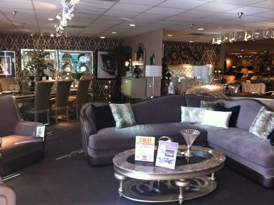 Crazy Silver Bedroom And Living Room Set Yelp