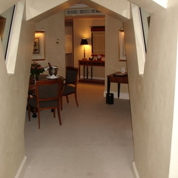 Entry hall to Tower Suite