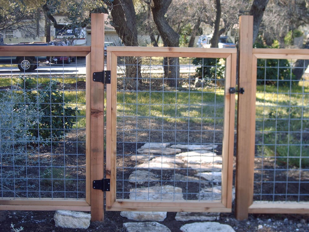 Bull Wire Fencing With Cedar Frame Yelp