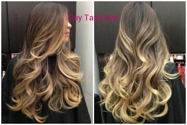 High contrast ombre on asian hair by guy tang yelp for Guy tang salon