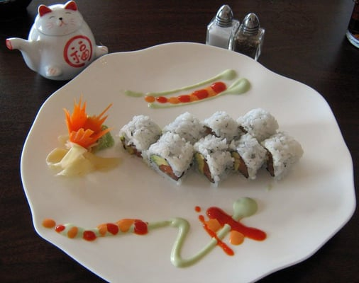 how to make inside out sushi rolls
