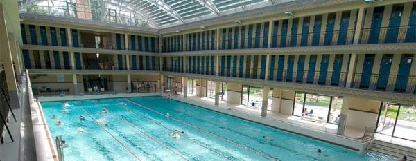Espace sportif pailleron piscine buttes chaumont - Piscine bois rectangulaire argenteuil ...