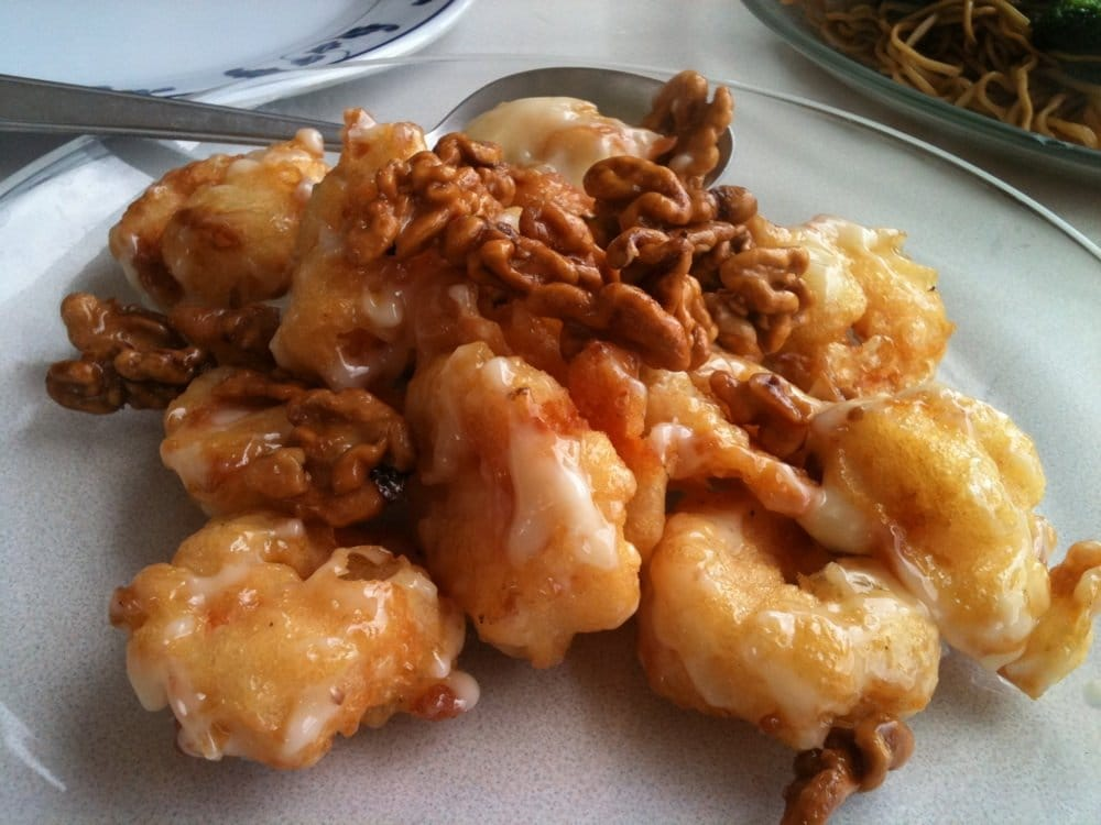 Honey glazed walnut shrimp | Yelp