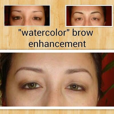 Loma 39 s exclusive temporary eyebrow tattoo demi permanent for Temporary eyebrow tattoos