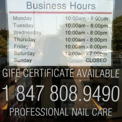 Nails Salon - Buffalo Grove, IL - Prices, Hours, Reviews