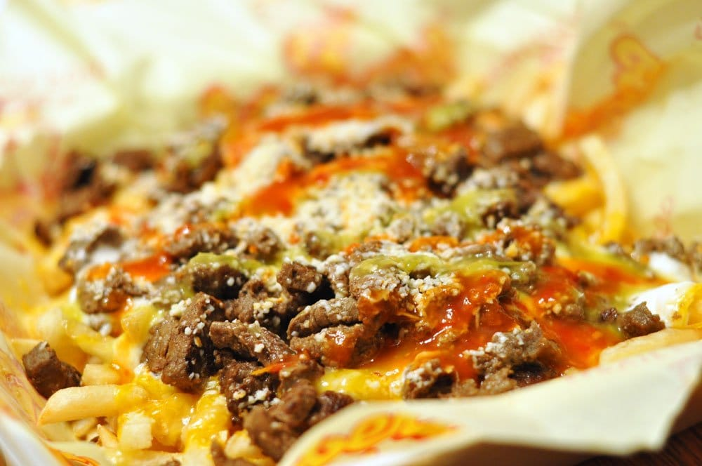 Carne asada fries up close and personal. | Yelp