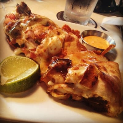 The new Baja Chicken Quesadilla! | Yelp