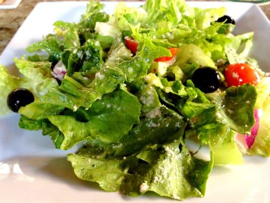Italian Romaine Finger Salad